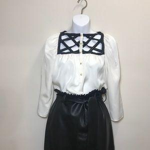 Rachel Roy unique blouse